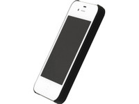 Air Jacket Rubber Black for iPhone 4/4s