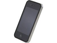 Flat Bumper Silver for iPhone 4/4s