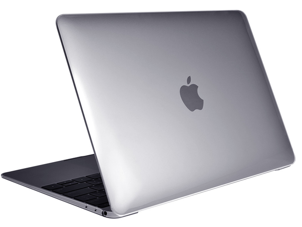"""Air Jacket Clear for MacBook 12"""" open"""