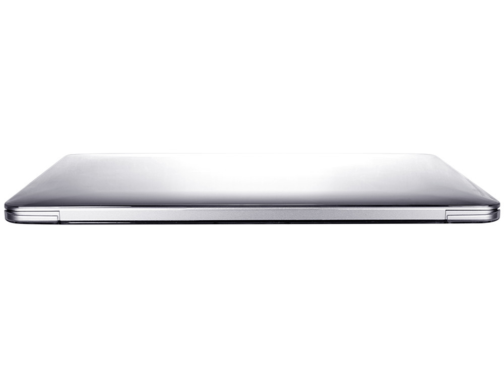 """Air Jacket Clear for MacBook 12"""" back"""