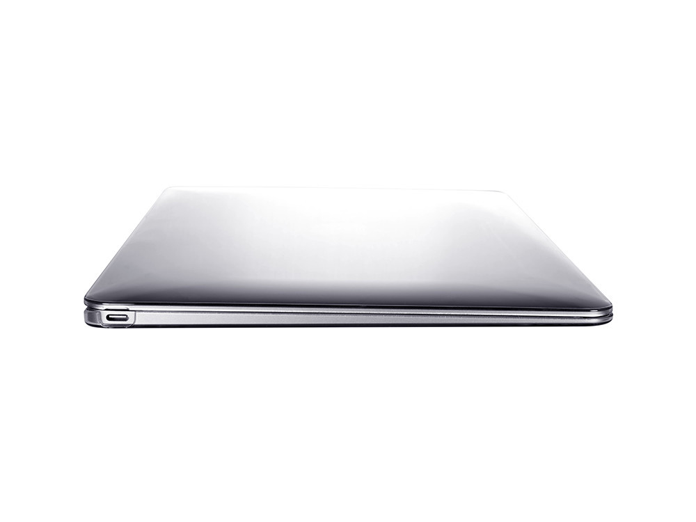 """Air Jacket Clear for MacBook 12"""" left side"""