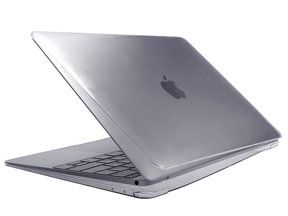 """Air Jacket Clear for MacBook 12"""" side"""