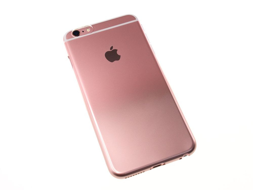 Air Jacket Set For Iphone 6s Plus 6 Plus Gradation Rose Gold
