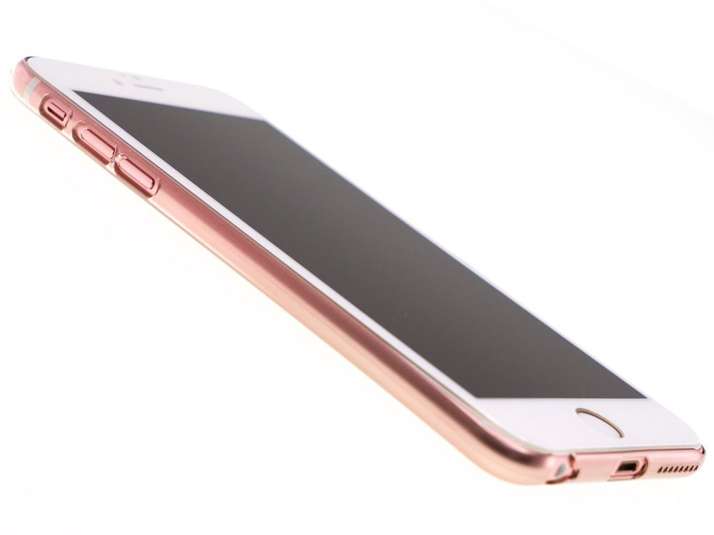 Air Jacket for iPhone 6s Plus/6 Plus Gradation Rose Gold front side