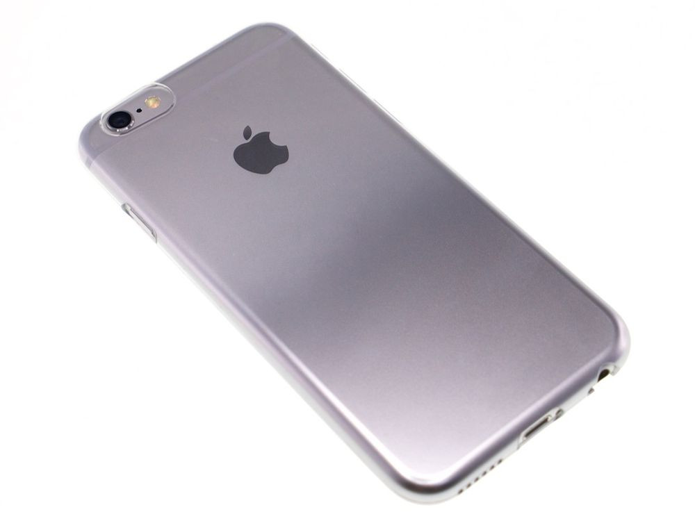 Air Jacket for iPhone 6s/6 Gradation Silver back