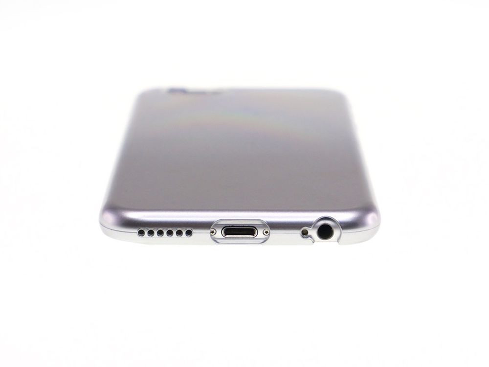 Air Jacket for iPhone 6s/6 Gradation Silver top