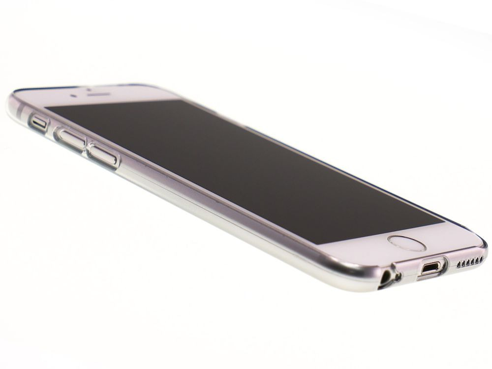 Air Jacket for iPhone 6s/6 Gradation Silver front side