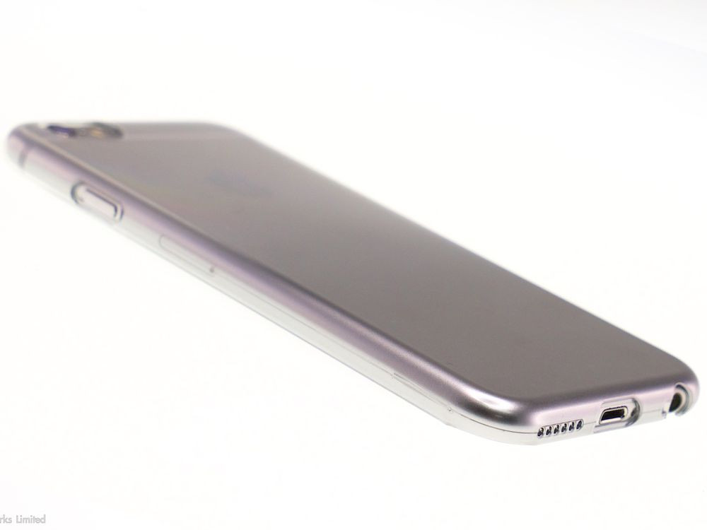 Air Jacket for iPhone 6s/6 Gradation Silver side