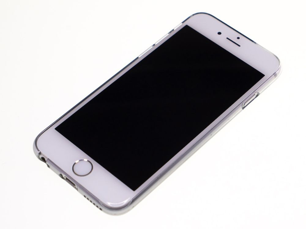 Air Jacket for iPhone 6s/6 Gradation Silver front