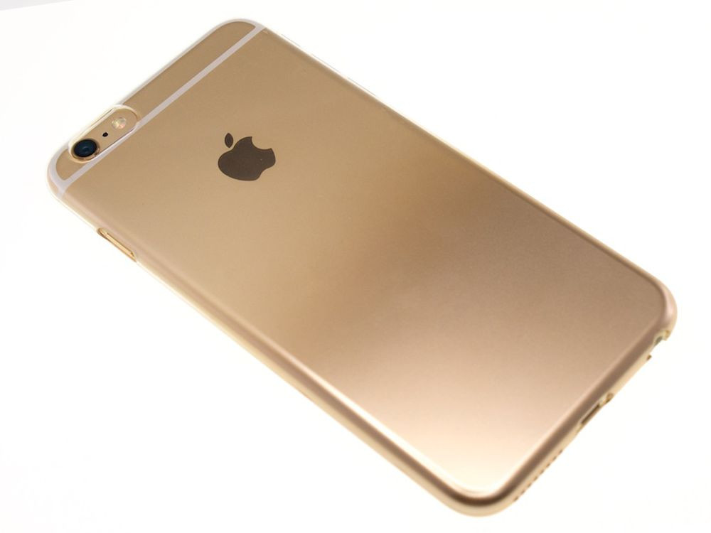 Air Jacket for iPhone 6s/6 Gradation Gold back