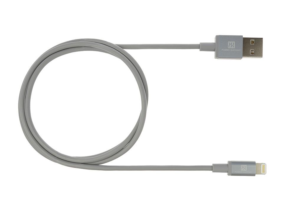 Gray USB Lightening Cable 1m