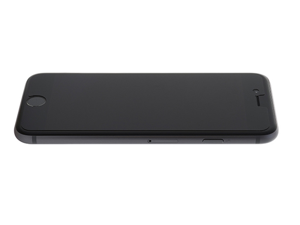 Anti-Glare Hybrid Screen Protector Film on an iPhone 6