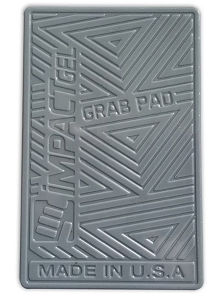 Impact Gel Grab Pad mobile iPhone holder Grey