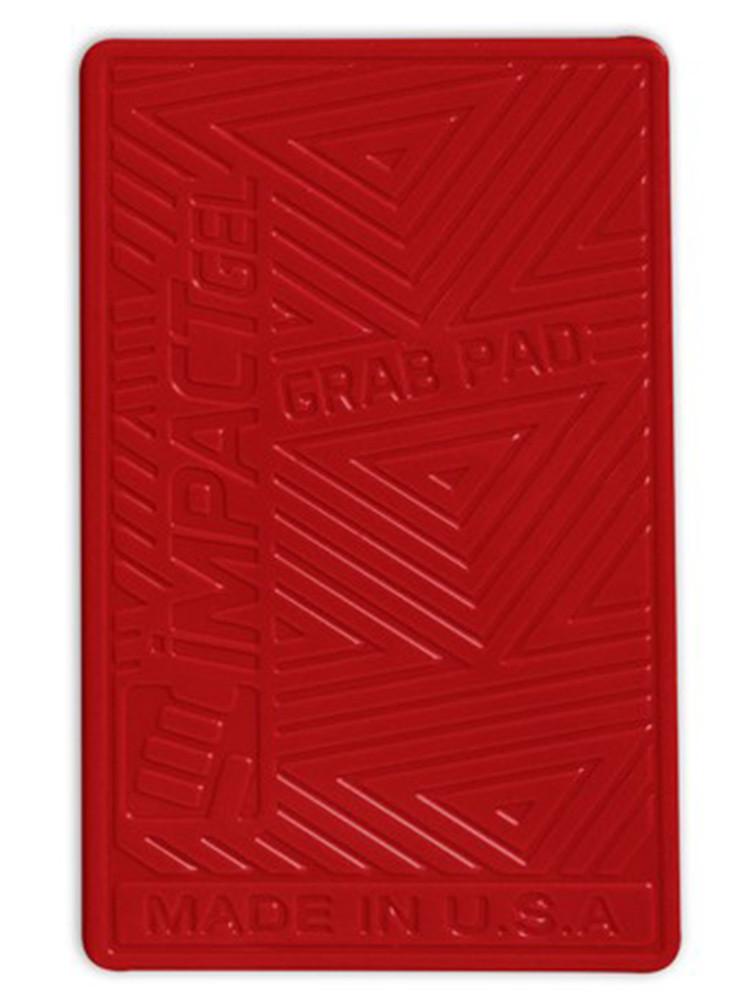 Impact Gel Grab Pad mobile iPhone holder Red