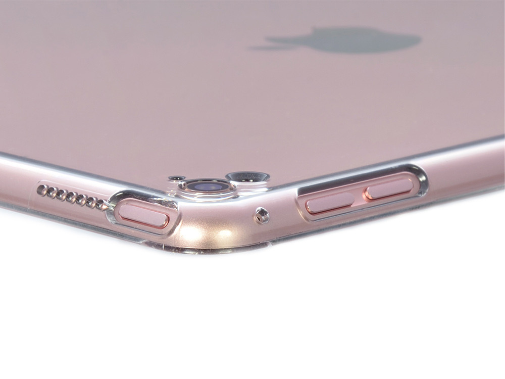 Air Jacket for iPad Pro 9.7 inch - Clear- Holes