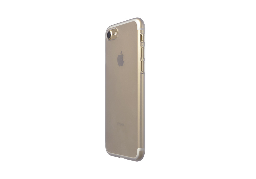 Air Jacket for iPhone 7 Clear Matte on gold iPhone 7