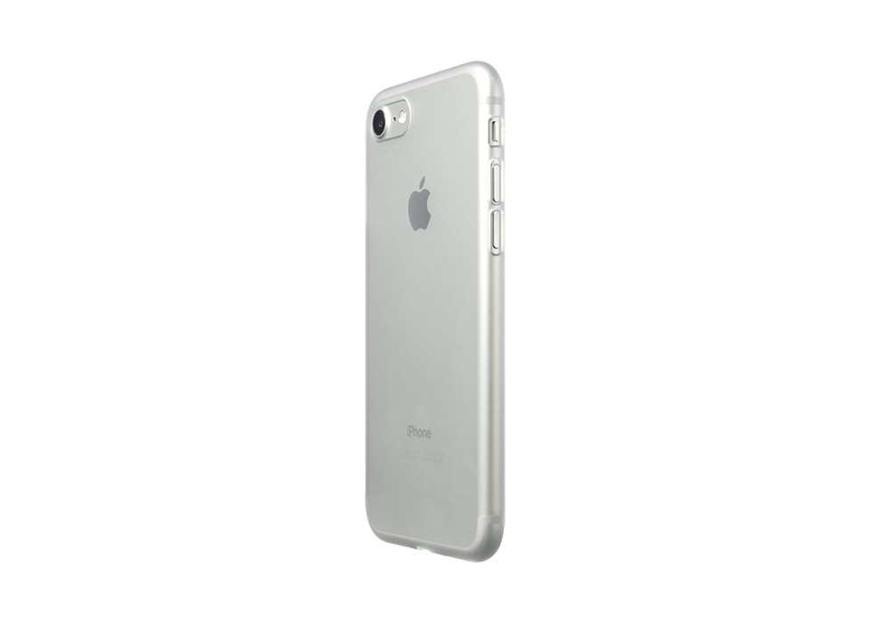 Air Jacket for iPhone 7 Clear Matte on silver iPhone 7