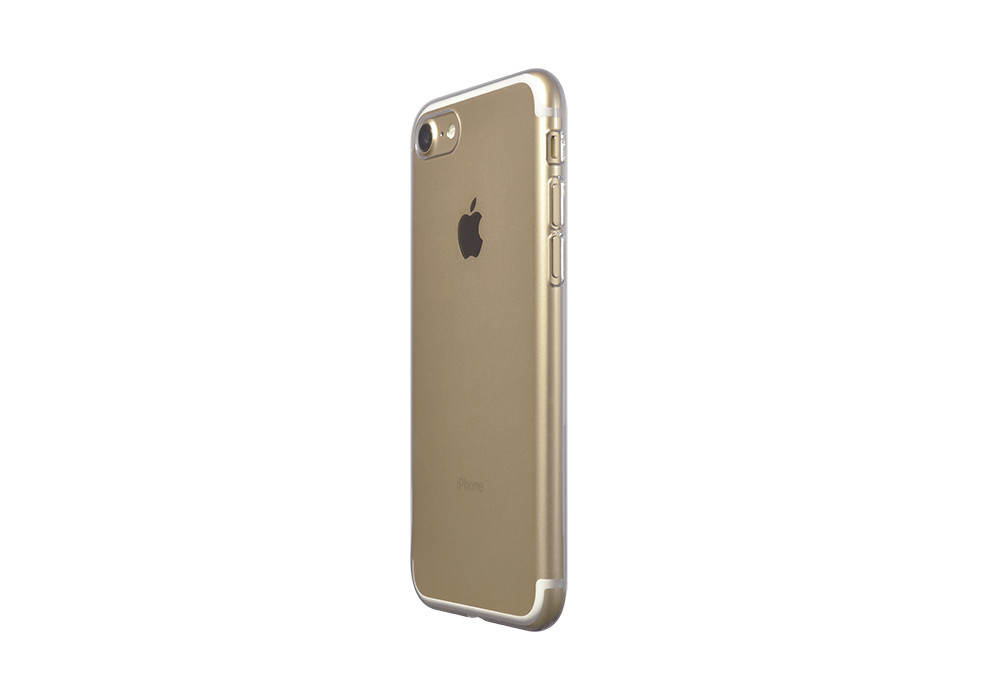 Air Jacket for iPhone 7 Clear on gold iPhone 7