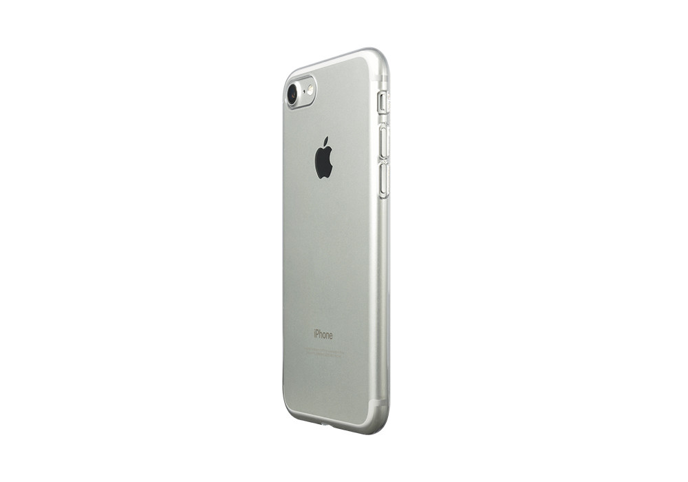 Air Jacket for iPhone 7 Clear on silver iPhone 7