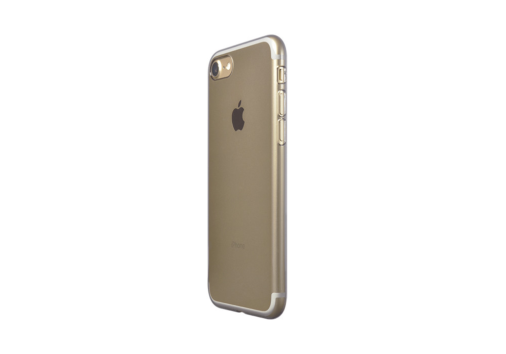 Air Jacket for iPhone 7 Clear Black on gold iPhone 7
