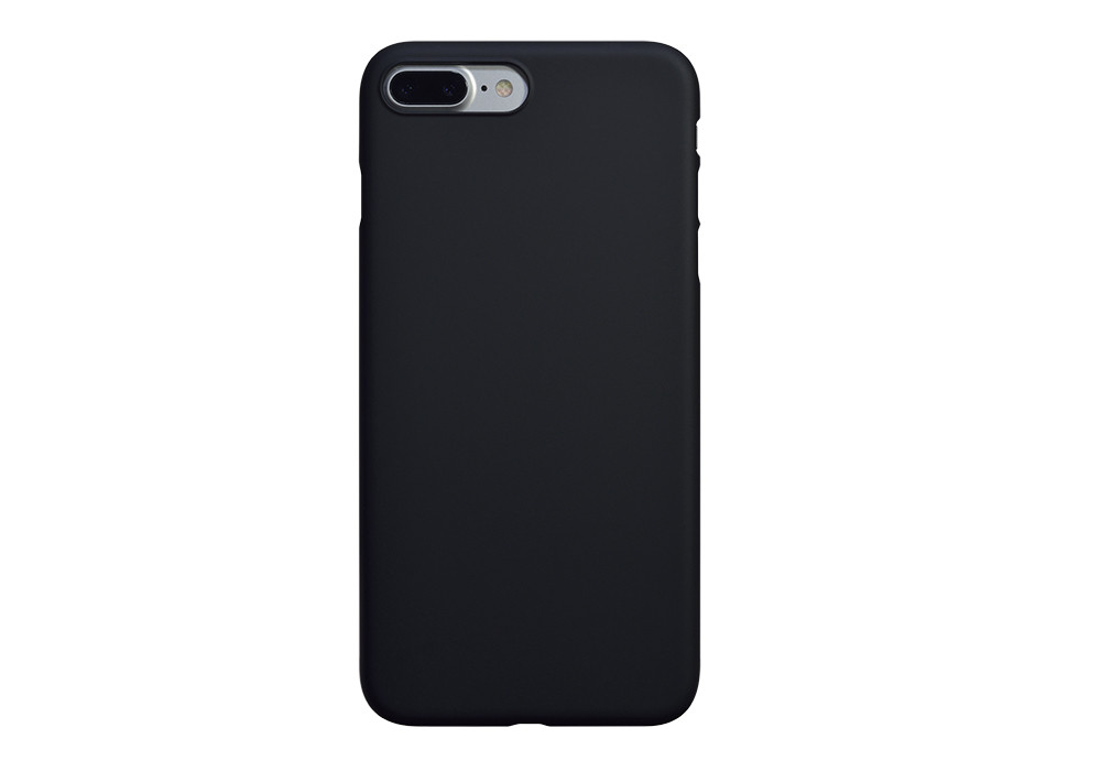 Air Jacket for iPhone 7 Plus Rubber Black on silver iPhone 7 Plus