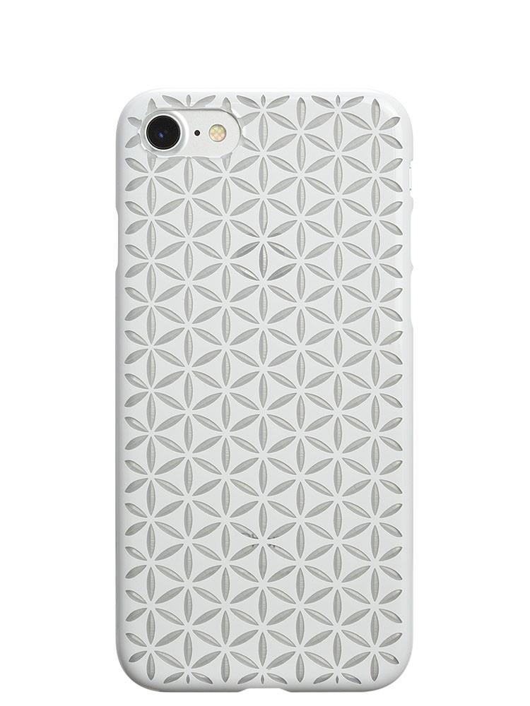 Air Jacket KIRIKO for iPhone 7 Hemp Pure White