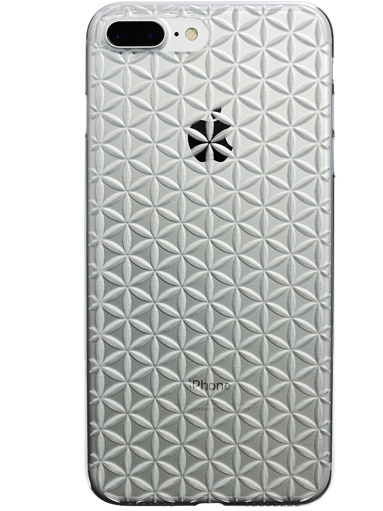 Air Jacket KIRIKO for iPhone 7 Plus Hemp Clear