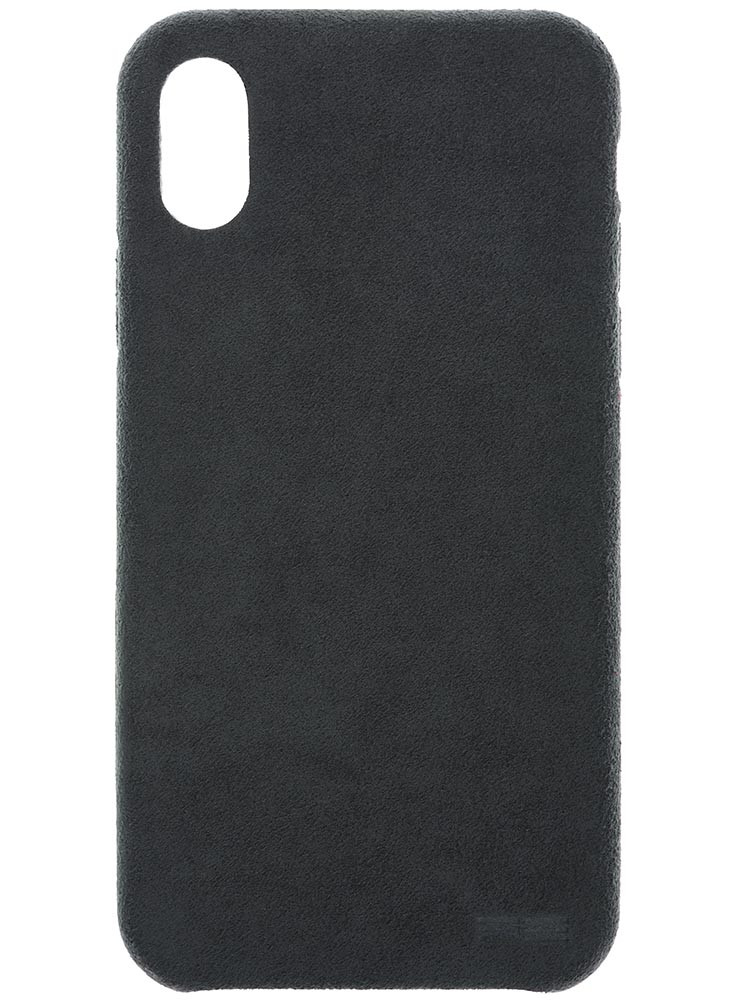 Ultrasuede Air Jacket for iPhone X Asphalt Back