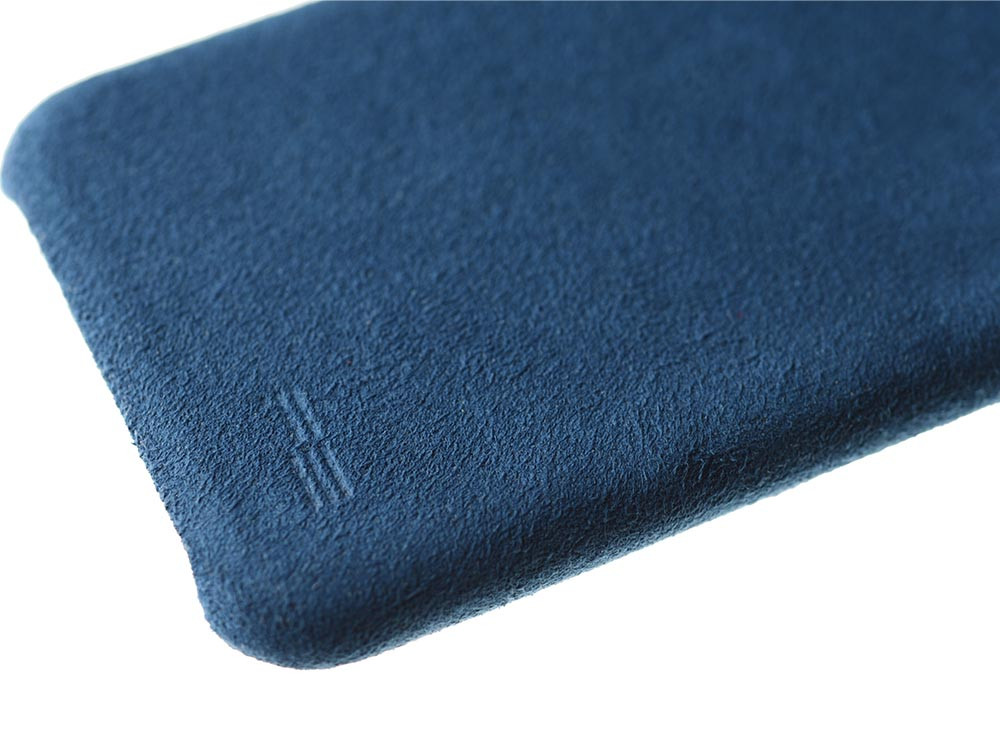 Ultrasuede Air Jacket for iPhone X Blue