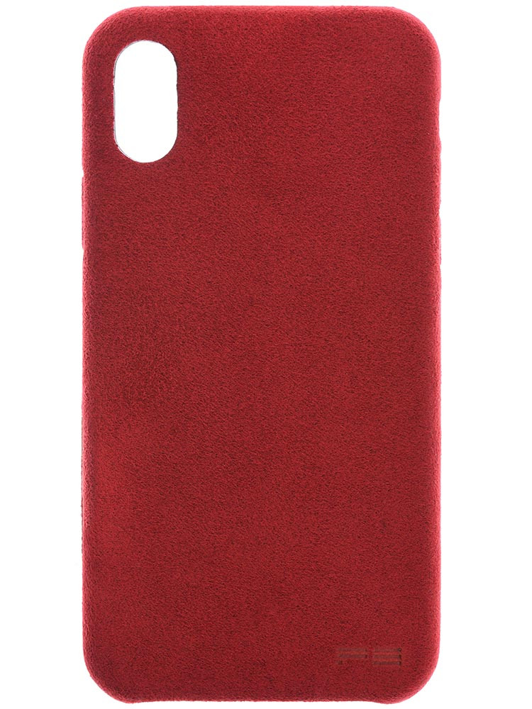 Ultrasuede Air Jacket for iPhone X Red Back