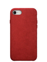 Ultrasuede Air Jacket for iPhone 8 Back Red