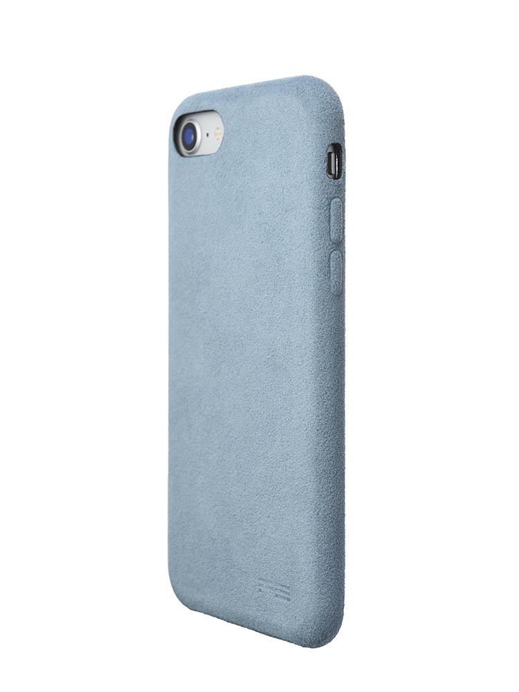 Ultrasuede Air Jacket for iPhone 8 Back Side Sky