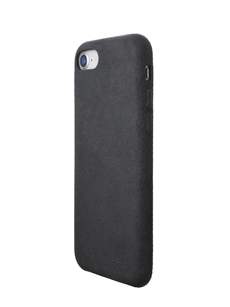 Ultrasuede Air Jacket for iPhone 8 Back Side Asphalt