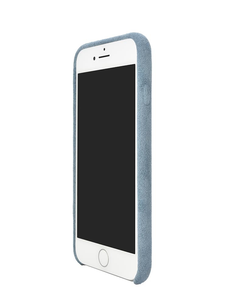 Ultrasuede Air Jacket for iPhone 8 Front Side Sky