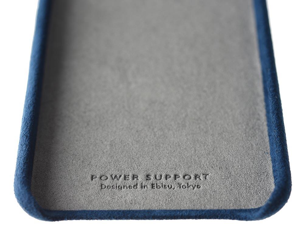 Ultrasuede Air Jacket for iPhone 8 inside Blue