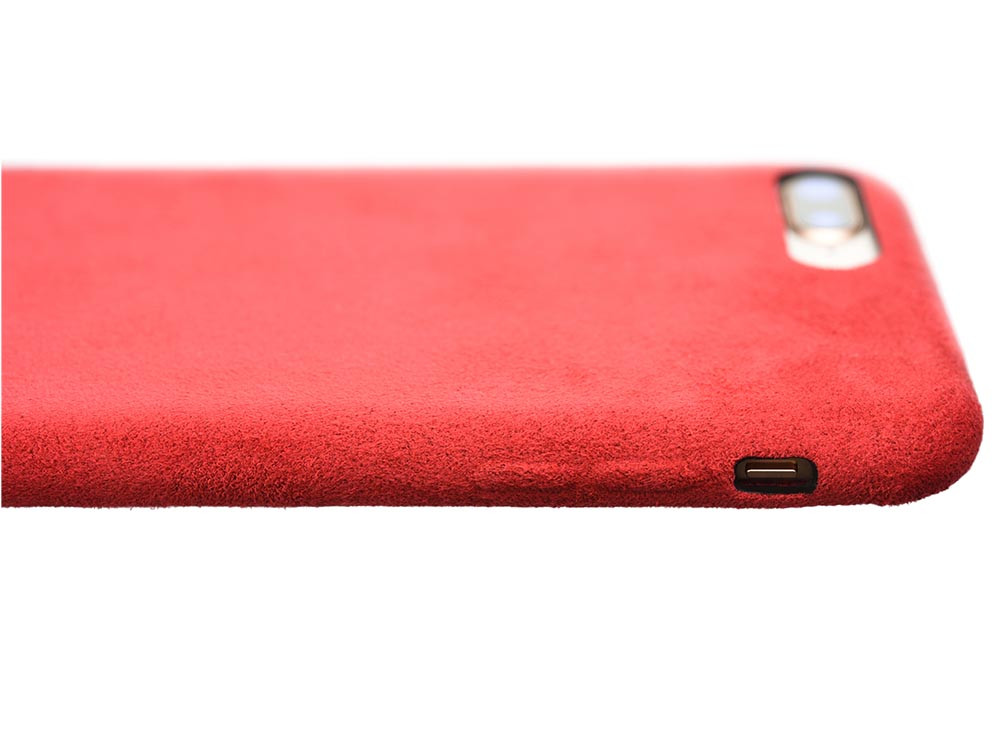 Ultrasuede Air Jacket for iPhone 8 side