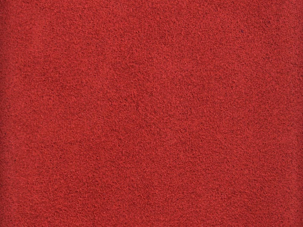 Ultrasuede Close Up Red