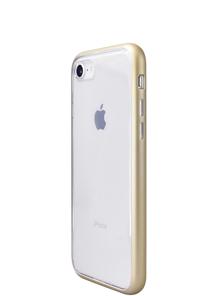 Shock Proof Air jacket for iPhone 8 Side Rubber Gold