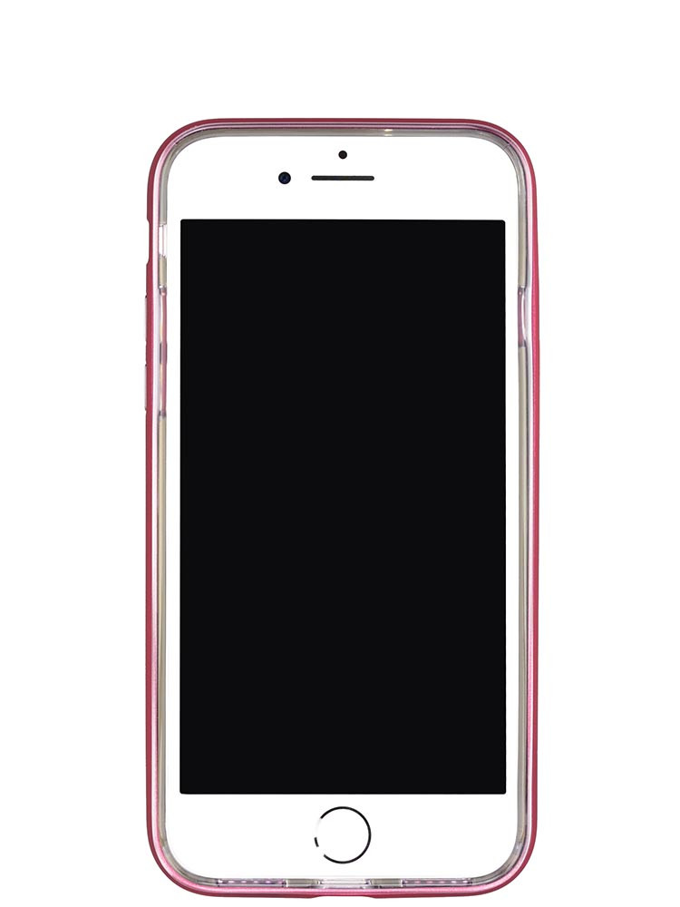 ba07e721e ... Shock Proof Air jacket for iPhone 8 Front Rubber Red ...