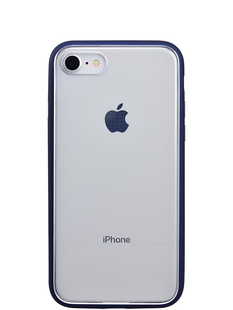 Shock Proof Air jacket for iPhone 8 Back Rubber Navy