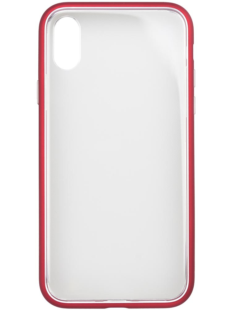 Shock Proof Air Jacket for iPhone X Rubber Red