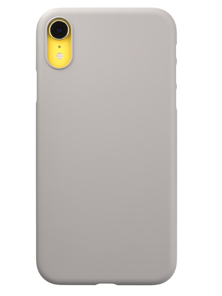 Air Jacket for iPhone XR Rubber Gray