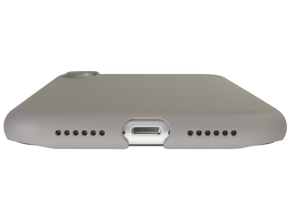 Air Jacket for iPhone XR Rubber Gray bottom