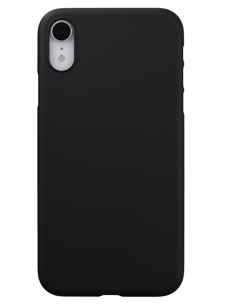 Air Jacket for iPhone XR Rubber Black