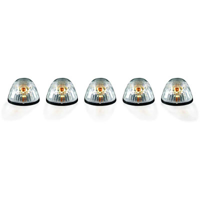 RECON 264141CL CLEAR LENS AMBER CAB LIGHT KIT 1994-1998 DODGE RAM 2500/3500 (NOT EQUIPPED WITH OE CAB LIGHTS)
