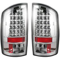 RECON 264171CL CHROME LED TAIL LIGHTS 2002-2006 DODGE RAM 1500 | 2003-2006 DODGE RAM 2500/3500
