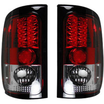 RECON 264170RD RED LED TAIL LIGHTS 1994-2001 DODGE RAM 1500 | 1994-2002 DODGE RAM 2500/3500