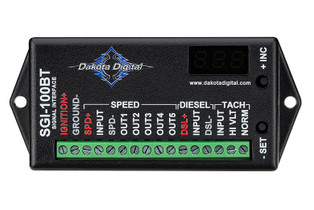 DAKOTA DIGITAL SGI-100BT UNIVERSAL TACHOMETER AND SPEEDOMETER INTERFACE