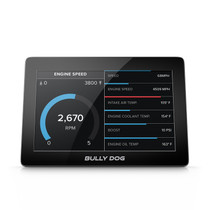 BULLY DOG TECHNOLOGIES 40465B GTX Watchdog Gauge Monitor 5 Inch Capacitive Touch Screen Not Legal For Sale Or Use In California