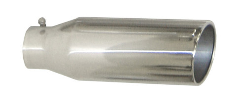 """PYPES PERFORMANCE EXHAUST EVT406-18  4"""" IN X 6"""" OUT X 18"""" LONG MONSTER TIP (UNIVERSAL)"""